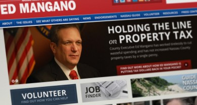 Nassau County Executive Ed Mangano Website