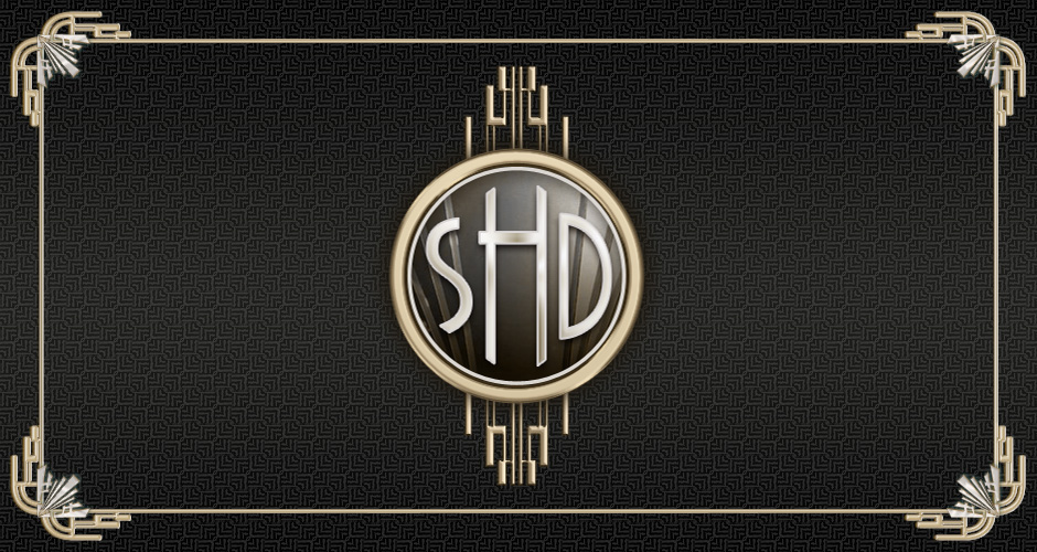 Shannon and Daryl Art Deco Wedding Invitations and Website ...