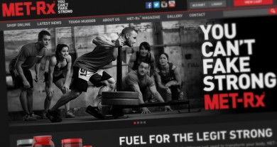 MET-Rx Website