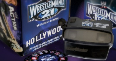 WWE WrestleMania 21 3D View-Master Marketing Kit